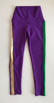 "Custom Sarah Ott Kids ""Mardi Gras Leggings"""