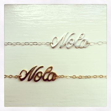 """""""NOLA"""" Gold Vermeil Charm Bracelet"""