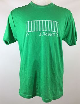 Barricade Jumper Green Tri-Blend Unisex Crew Neck Tee