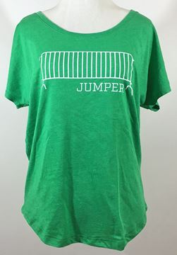 Barricade Jumper Ladies Tri-Blend Dolman Tee