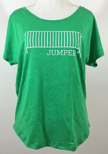 Barricade Jumper Ladies Tri-Blend Dolman Tee