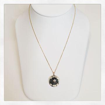 """ASH Coordinates"" 14KY Gold Charm Necklace"