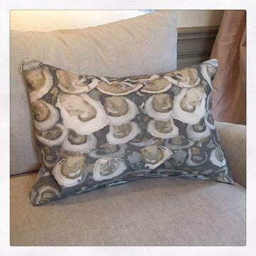 """Oyster Pillow Rectangular 14"""" x 21"""""""