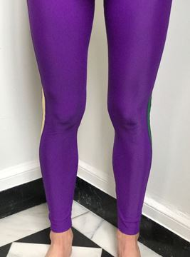 "Custom Sarah Ott Ladies ""Mardi Gras Leggings"""