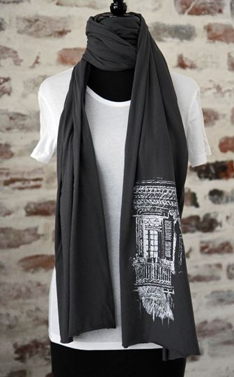New Orleans Balcony Scarf
