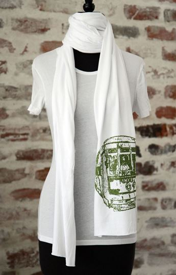 New Orleans Streetcar Scarf