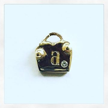 """Love Locks"" 10KY Gold Charm Only* (Add on Charm)"