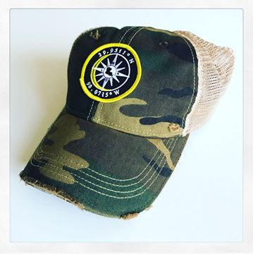 Picture of NOLA Coordinates Camo Hat