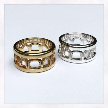 """NOLA Skyline"" Sterling Silver Ring"