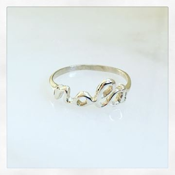 """NOLA"" Sterling Silver Ring"