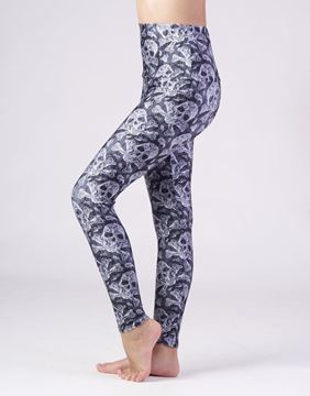 Emily Hsu Skulls Girls leggings