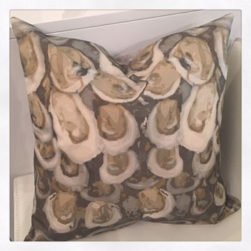 """Oyster Pillow Square 18"""" x 18"""""""