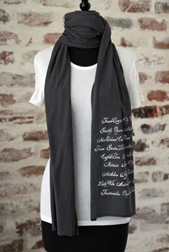 New Orleans Neighborhoods Scarf