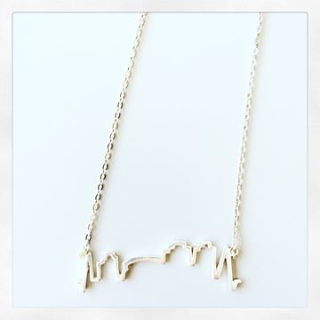 NOLA Skyline Sterling Silver Charm Necklace