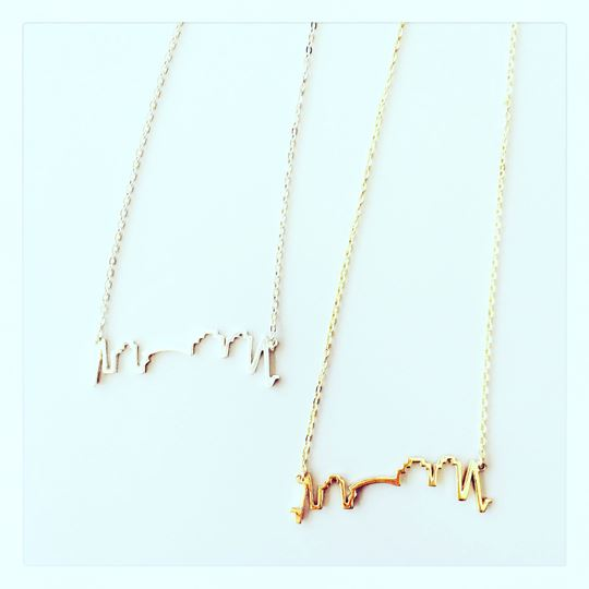 """NOLA Skyline"" Charm Necklace"