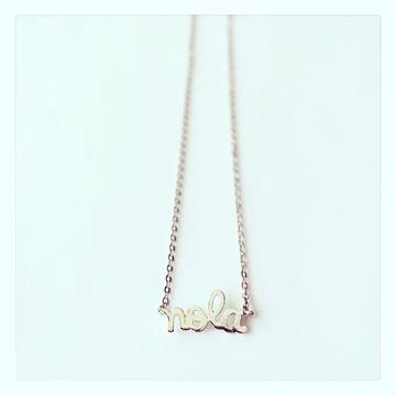 """NOLA"" Charm Necklace"