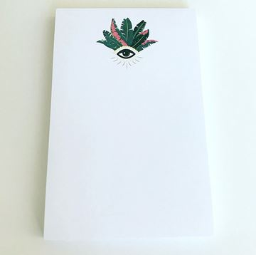 Summer Evil Eye Notepad