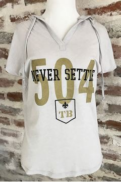 Picture of Never Settle 504 Silver