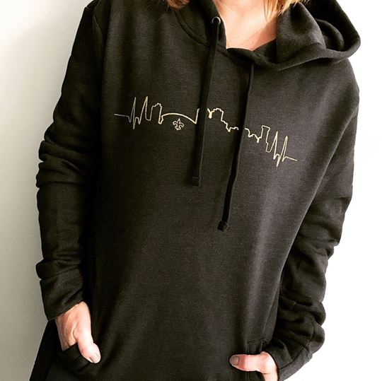 Picture of NOLA Skyline French Terry Hoody