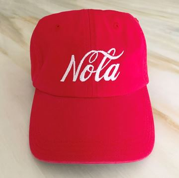 Picture of NOLA Chino Hat (Red)