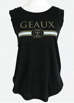 Picture of Geaux Black & Gold Black