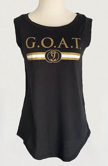 Picture of G.O.A.T. #9 Cap Sleeve