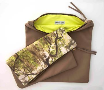 Picture of Spanish Moss Clutch Purse