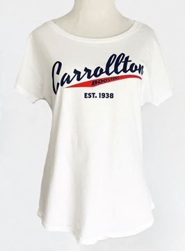 Picture of Carrollton Boosters White Dolman